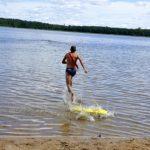 Купальный сезон завершен, но в одной реке все еще можно купаться