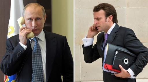 Le Monde: Путин в беседе с Макроном заявил, что Навальный мог сам принять Новичок