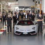 Lamborghini похвасталась юбилейным Aventador