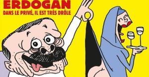 Турция пообещала принять меры из-за публикации карикатуры на Эрдогана