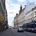Внимание: улицу Чака в Риге закроют для движения транспорта