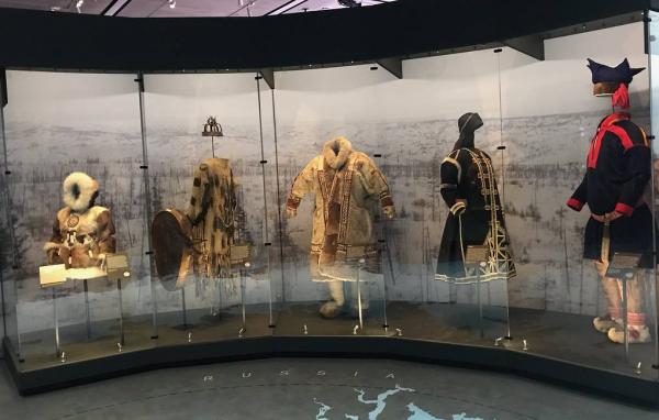 Экспонаты из Кунсткамеры представлены в Лондоне на выставке про Арктику