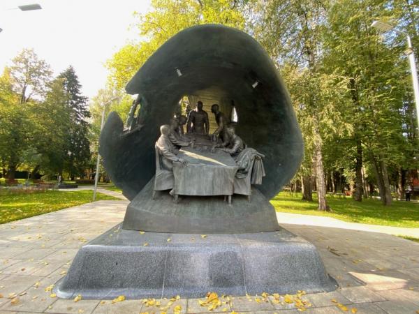 Памятник, посвящённый битве за Москву, открыл Виктор Садовничий