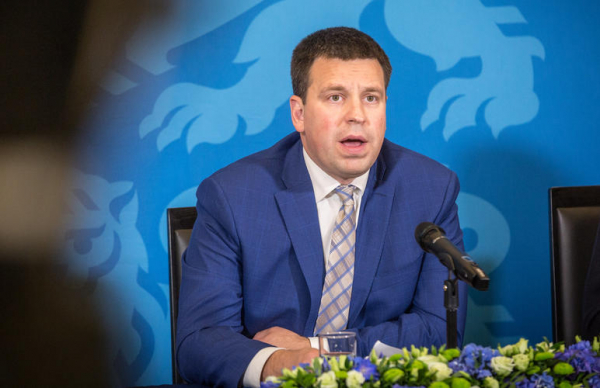 Юри Ратас напомнил Марту Хельме о коалиционном договоре