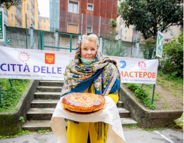 Фестиваль русских ремёсел прошёл в Милане