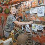 Калининградский школьник открыл в подвале музей Великой Отечественной войны