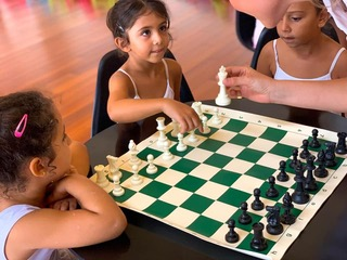 Соотечественница открыла в Сенегале шахматный клуб и провела детский турнир