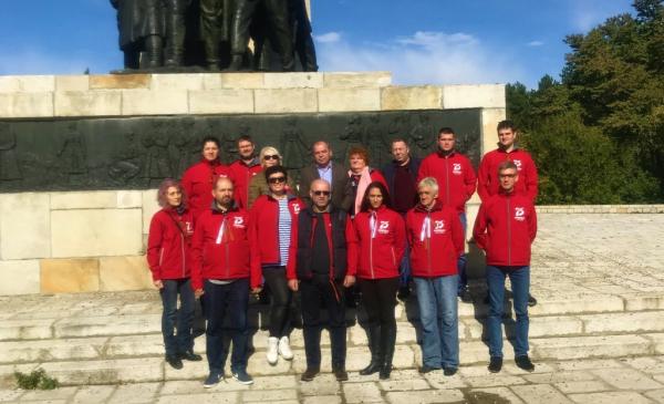 Автопробег по мемориальным местам «Навстречу Победе» прошёл в Сербии