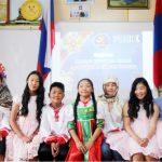 Монгольские школьники читали по-русски стихи Пушкина