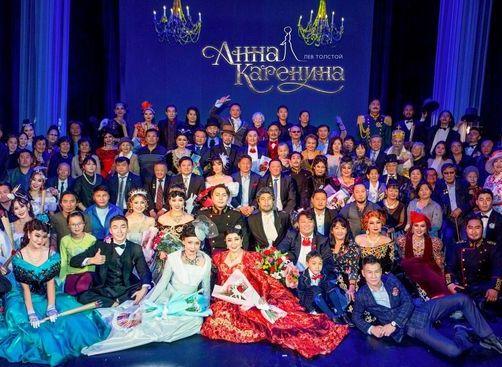 «Анну Каренину» впервые поставили на монгольском языке в Улан-Баторе