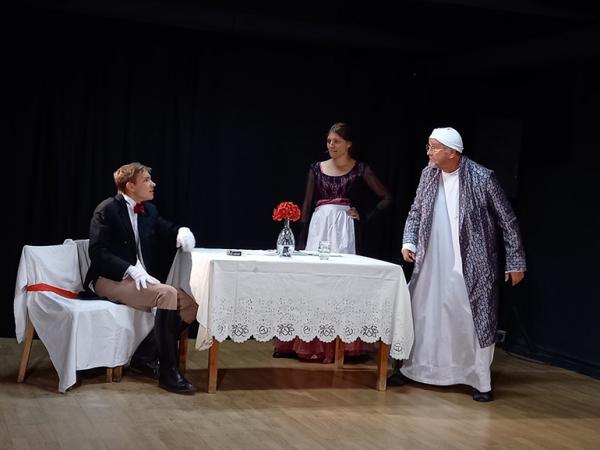 В словацком Прешове состоялась премьера спектакля по пьесе Чехова «Предложение»