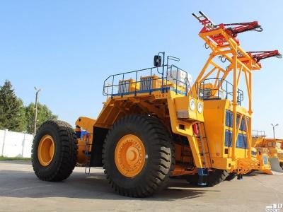 БелАЗ приступает к выпуску огромных грузовых троллейбусов