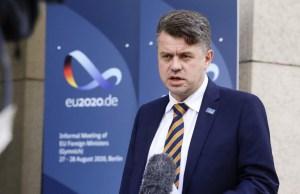 Рейнсалу предостерег от поездок в Литву