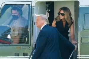 Трампа вновь заподозрили в фейковой Мелании