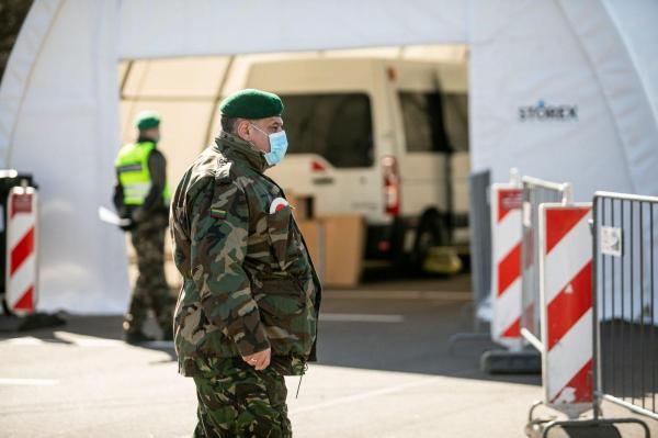 Армия Литвы поможет Национальному центру общественного здоровья