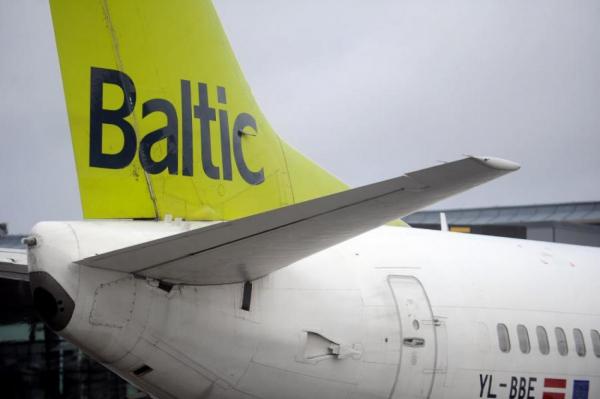 airBaltic временно прекращает полеты из Риги в Лиепаю