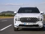 Hyundai расcказала о моторах для нового Santa Fe
