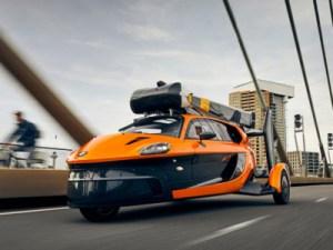 В Европе разрешили ездить на летающих автомобилях