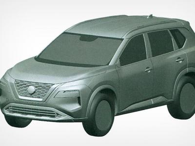 В России запатентовали кроссовер Nissan X-Trail четвертого поколения