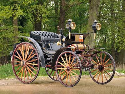 Водитель успешно прошел техосмотр на машине, которой 125 лет