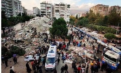 Русские жители турецкого Измира помогают соотечественникам, пострадавшим от землетрясения