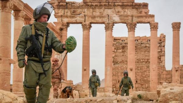 Завершаются съёмки фильма о российских сапёрах в Пальмире