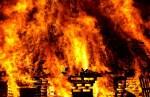 В волости Йыхви сильный пожар унес жизни двух человек