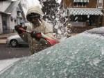 Чем опасна наледь на автомобиле после дождя