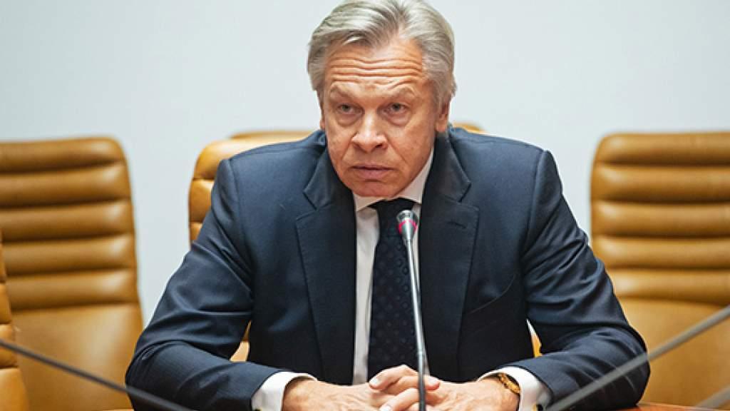 Сенатор Алексей Пушков прокомментировал слова Майи Санду о выводе миротворцев из Приднестровья