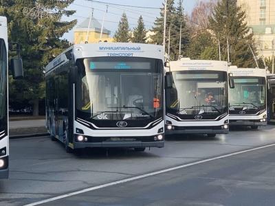 В городах России появляются троллейбусы нового поколения