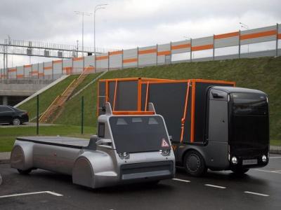 В России создали первый грузовик для «умных дорог»