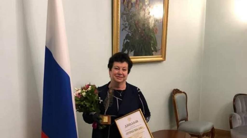 Журналист Алла Березовская завоевала награду в конкурсе «Янтарное перо»
