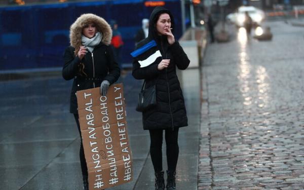 В эстонские суды подано 45 жалоб против обязательного ношения масок