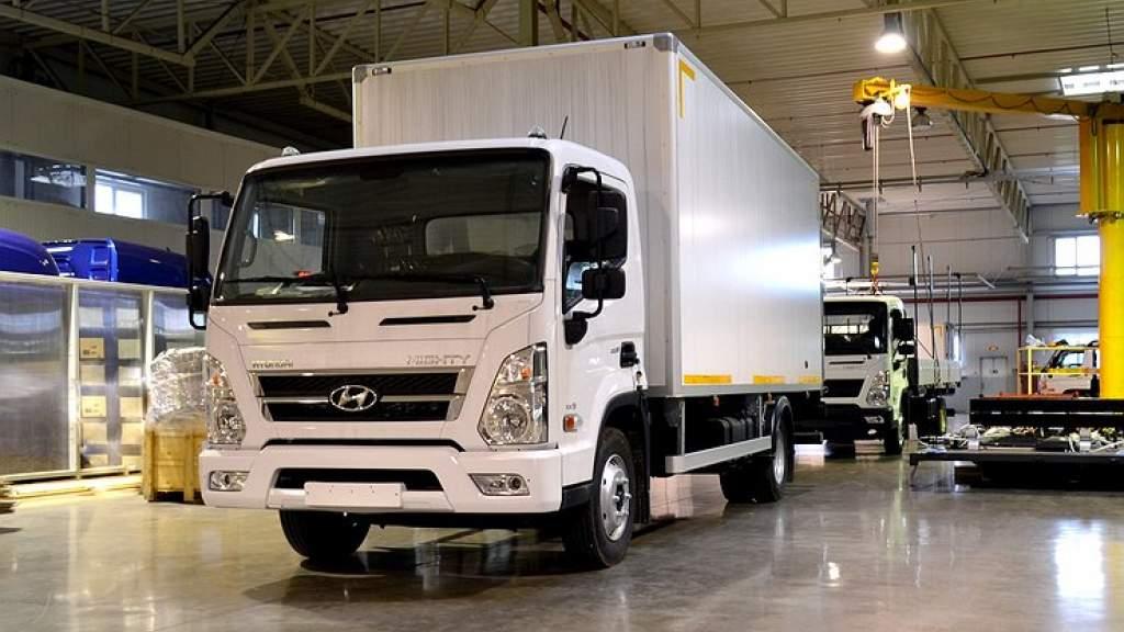 Hyundai приступила к сборке грузовиков Mighty в России