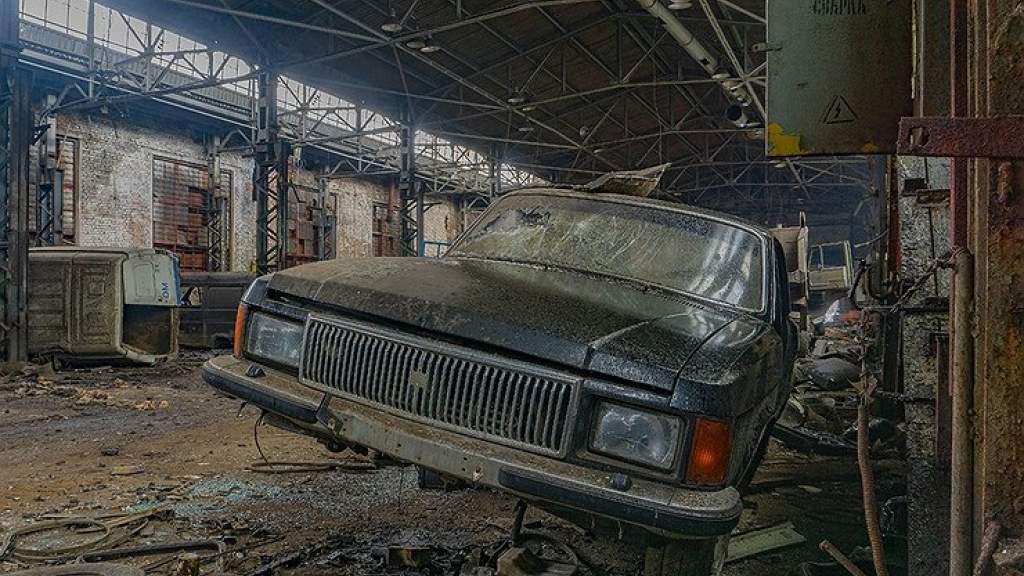 Как сейчас выглядит заброшенный тракторный завод во Владимире