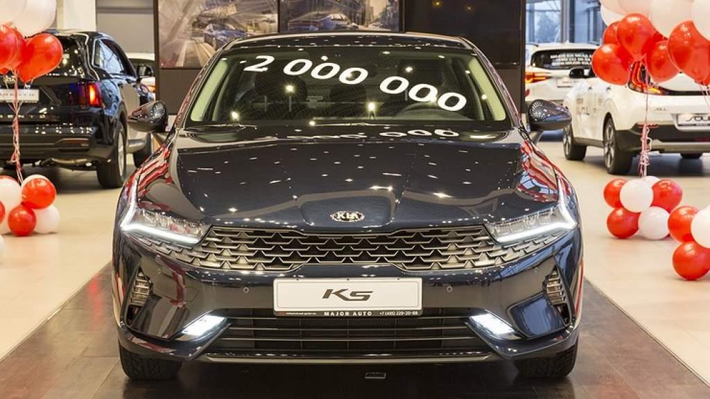 KIA установила в России новый рекорд продаж