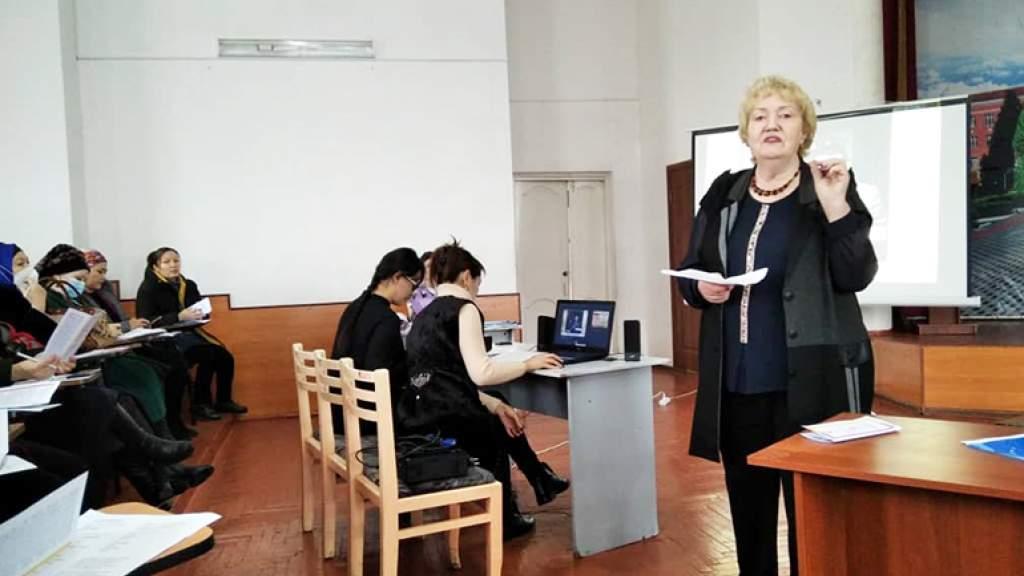 Мастер-классы для преподавателей русского языка провели в Оше