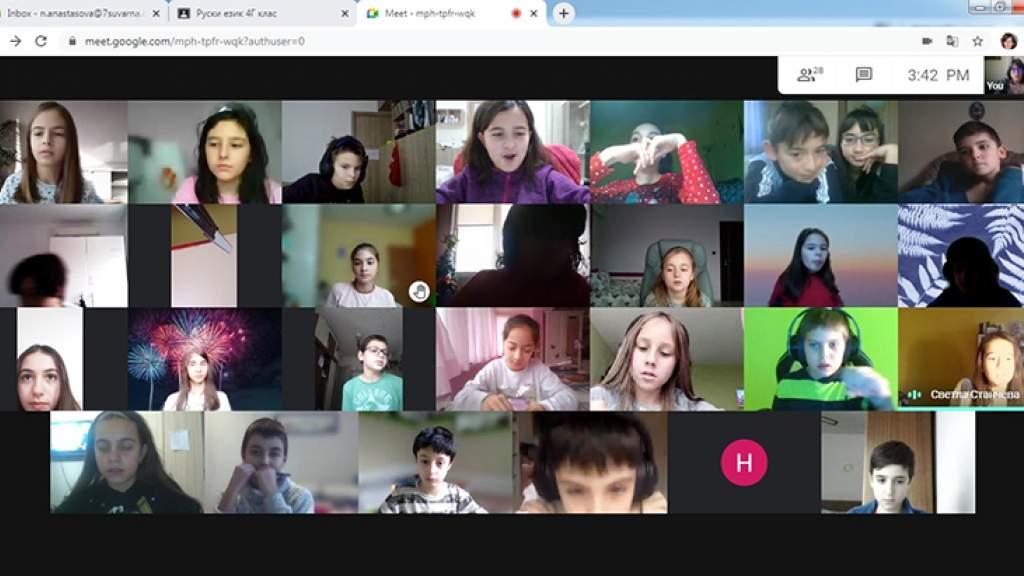 Новогодняя программа Русского центра в Варне для школьников и студентов