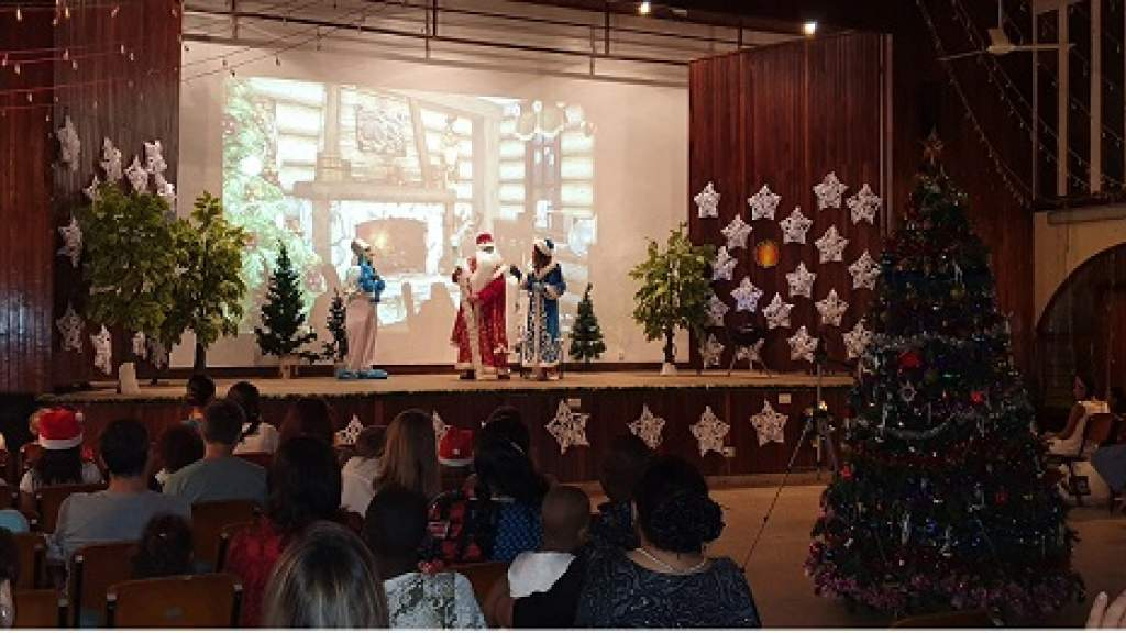 Новогоднюю ёлку организовали РЦНК и КСОРС Танзании