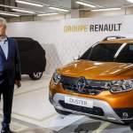 Новый Renault Duster первым показали Сергею Собянину