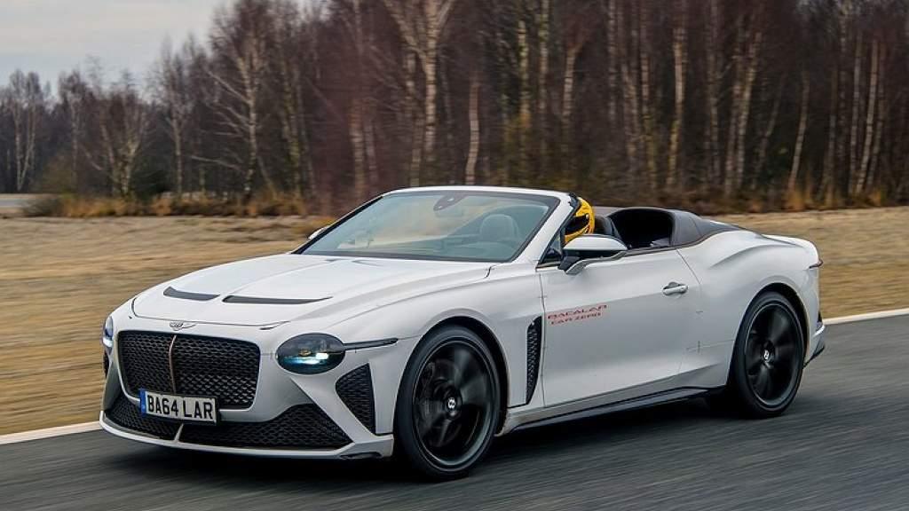 Новый родстер Bentley вывели на дорожные тесты