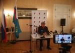 Посол РФ в Эстонии Александр Михайлович Петров провёл пресс-конференцию