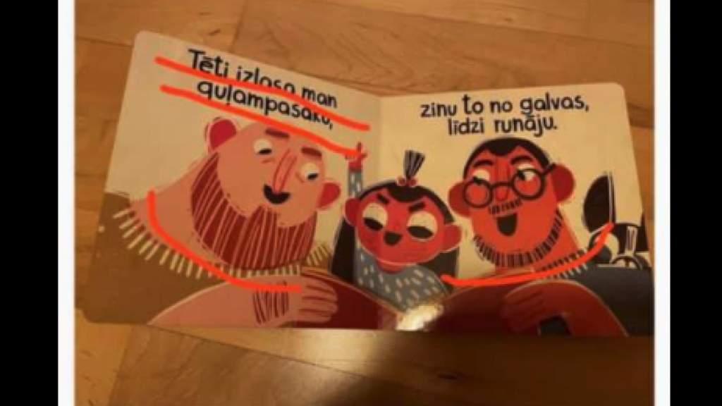 Шок: детям в подарок книжку про геев на Новый год? Уже на прилавках Латвии!
