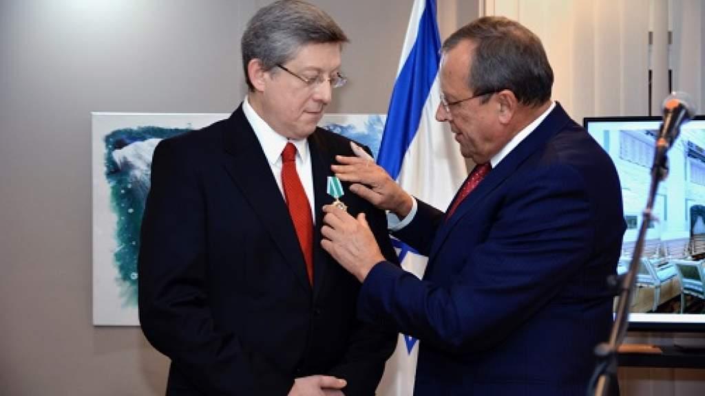 В Израиле вручены государственные награды Российской Федерации