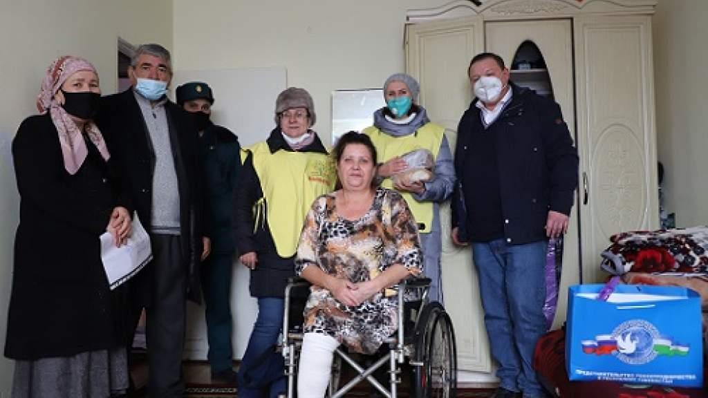 В Ташкенте продолжаются благотворительные акции