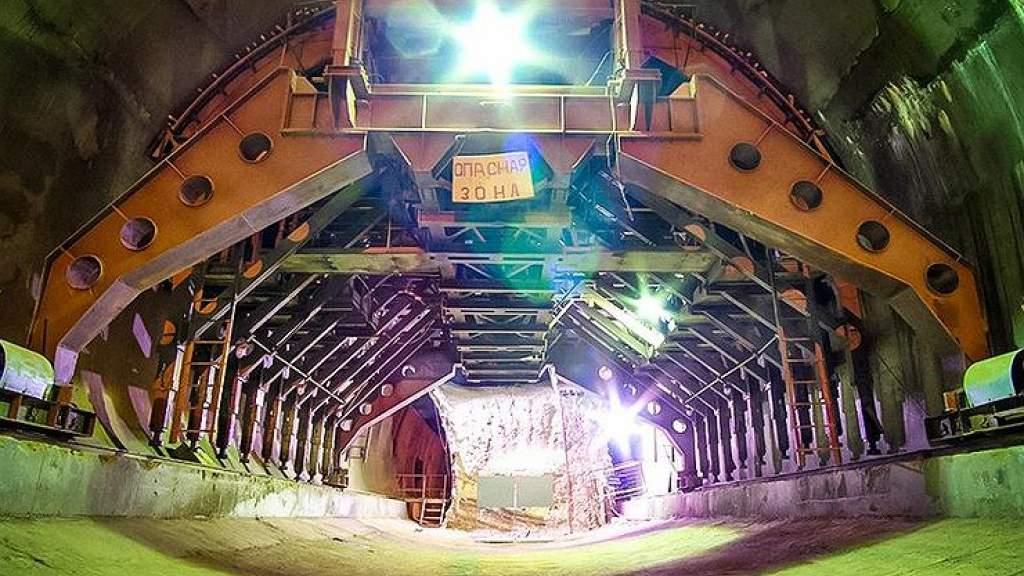 В Уфе обнаружили автомобильный тоннель на глубине 60 метров