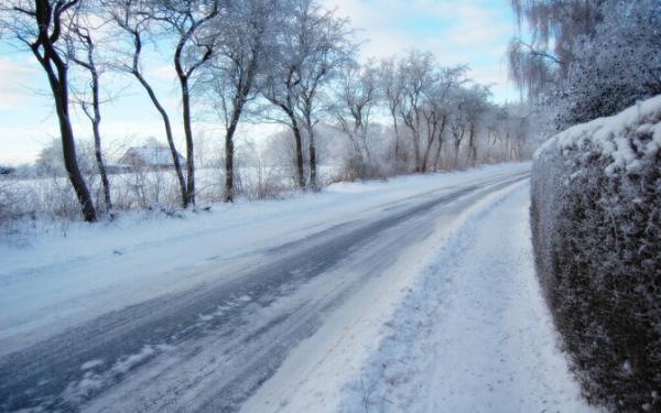 В пятницу вечером на дорогах Эстонии возникнет опасность гололеда