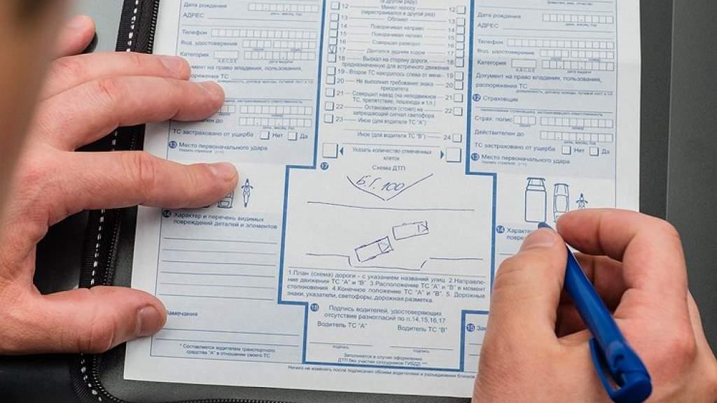 Больше половины ДТП в России оформляют без вызова ГИБДД