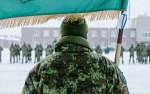 В Тапа был освящен флаг артиллерийского батальона первой пехотной бригады Эстонских сил обороны