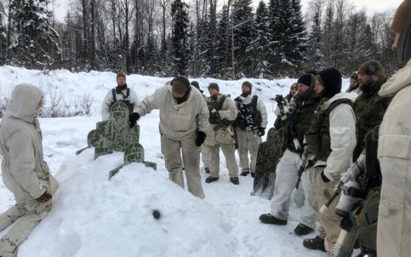 Скаутский батальон подготовил инструкторов зимней боевой подготовки